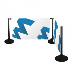 CAFÉ BARRIER - kit de 2 postes + bases