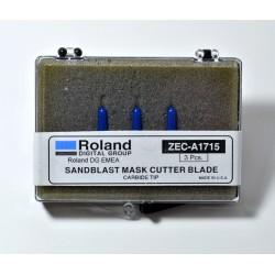 KIT 3 CUCHILLAS ROLAND SANDBLAST ZEC-A1715