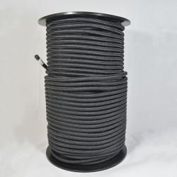 CORDON ELASTICO NEGRO 8 mm x 100 mts