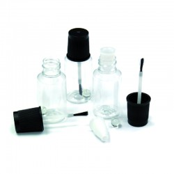 KIT 100 BOTES RETOQUE CON PINCEL 20 ML
