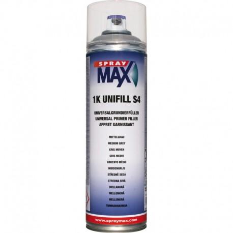 SPRAY MAX UNIFILL NEW S4 GRIS MEDIO 500 ML