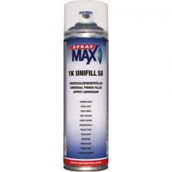 SPRAY MAX UNIFILL S6 GRIS OSCURO 500 ML