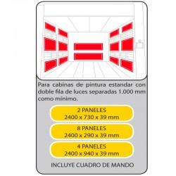 KIT PANELES ENDOTERMICOS 600403