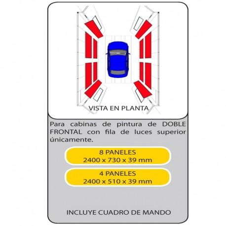 KIT PANELES ENDOTERMICOS 600404