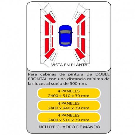 KIT PANELES ENDOTERMICOS 600405