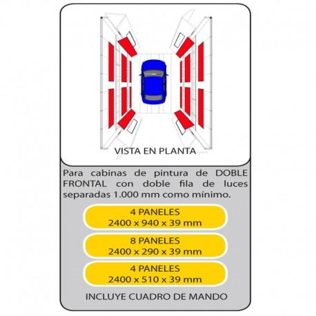 KIT PANELES ENDOTERMICOS 600406
