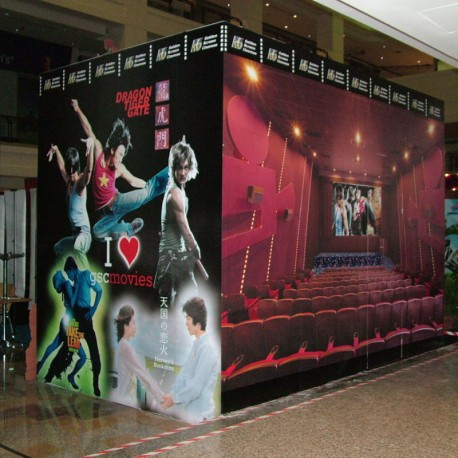 FILM PVC BLANCO MATE PERMANENTE CON CORTES 100 MIC